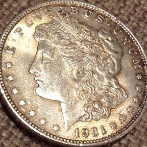Other - Rare Brilliant Uncirculated 1921 Morgan Dollar!
